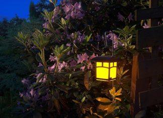 oświetleniu ogrodowym